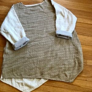 Sweaters - Reservable block sweater